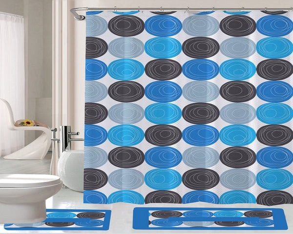 15 Piece Shower Curtain Set Fabulous