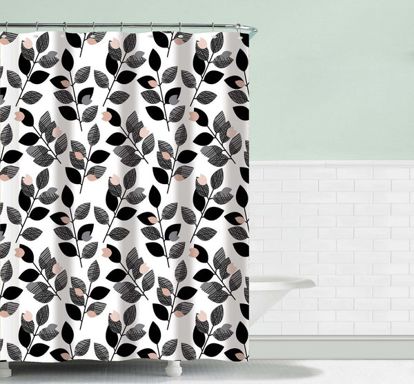 Elegant Touch Shower Curtain Geometric