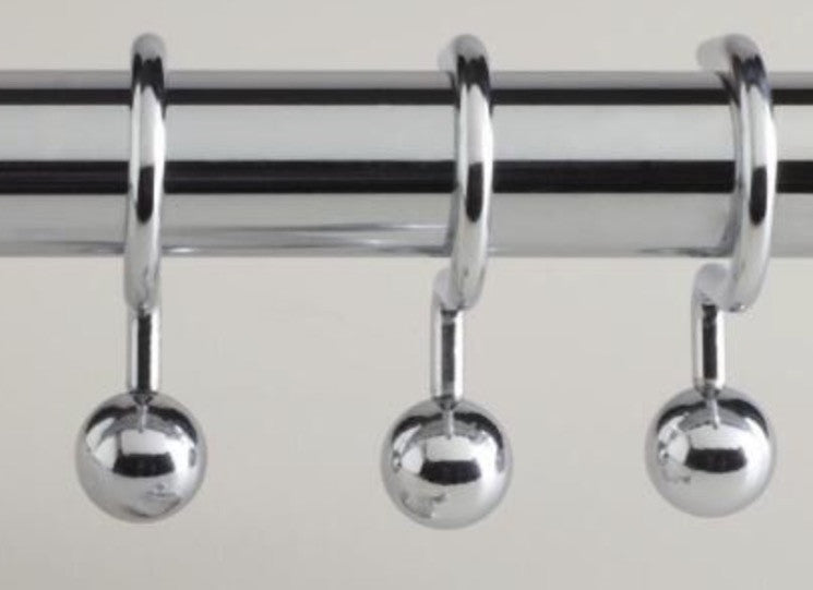 Metal Shower Hooks Ball