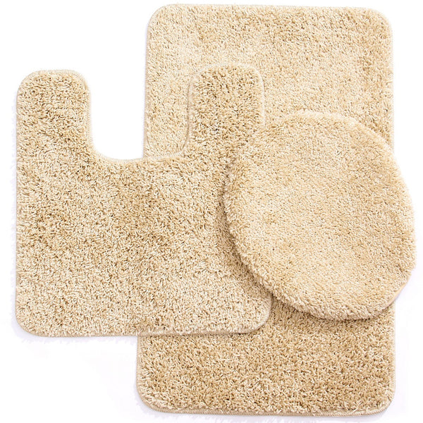 3PC Elite Bath Mat Set