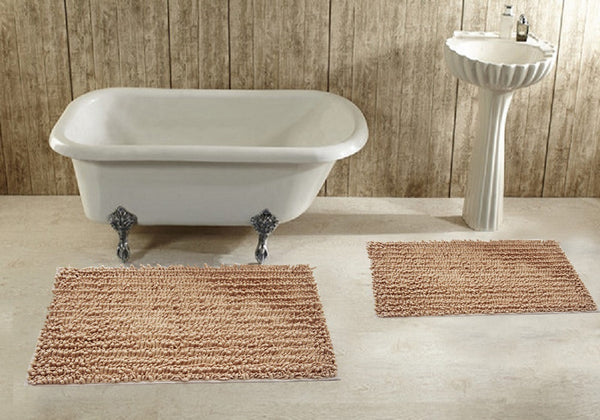 2 Piece Bath Rug Set Deluxe