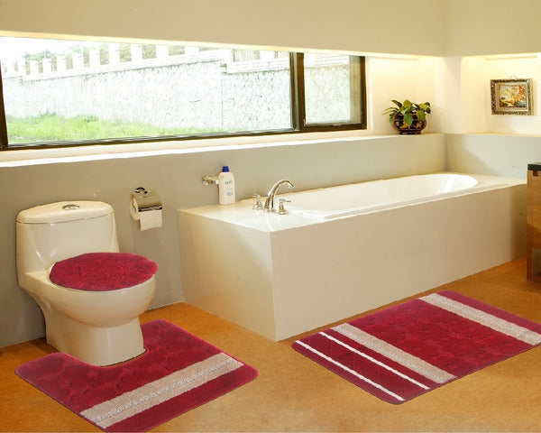 3 Piece Galaxy Bath Mat Series