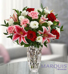 marquis-by-waterfordå¨-blushing-rose-and-lily-bouquet_gofruitSmall