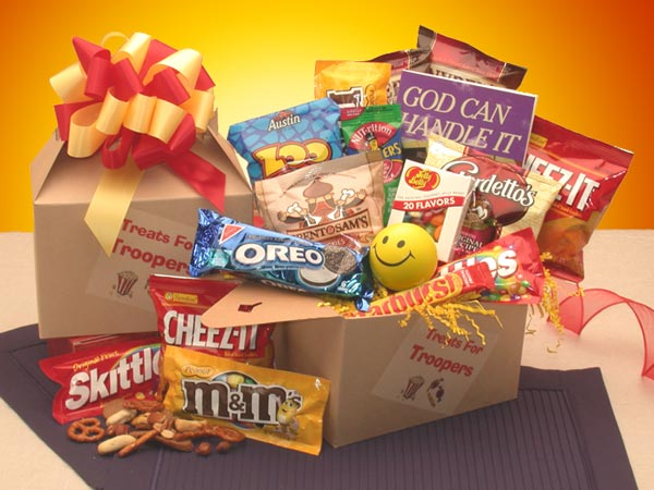 God-Can-Handle-It-Treats-Care-PackageGift Basket - Gourmet Basket
