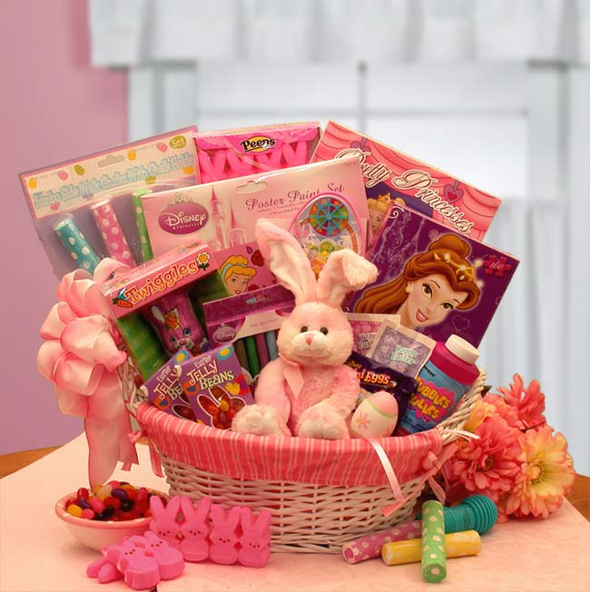 Little-Princess-Disney-Easter-Fun-BasketGift Basket - Gourmet Basket