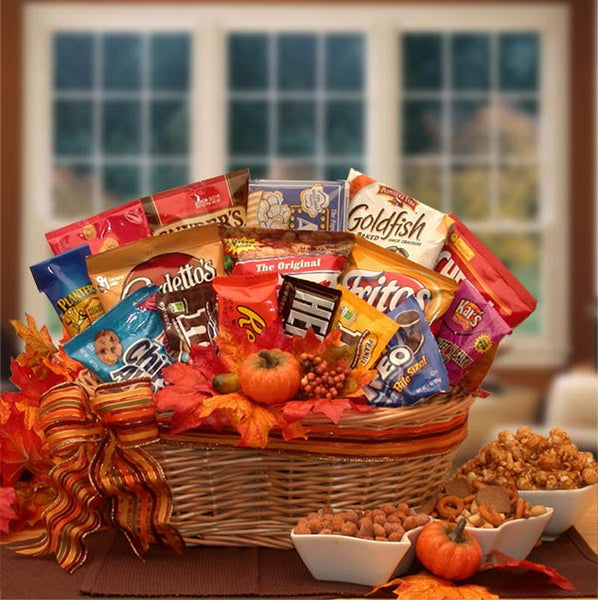 A-Fall-Snack-Attack-Gift-BasketGift Basket - Gourmet Basket