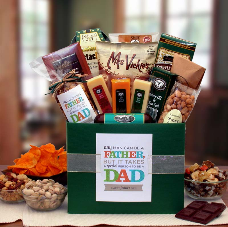 It-Takes-A--Special-Man-To-Be-A-Dad-Gift-BoxGift Basket - Gourmet Basket