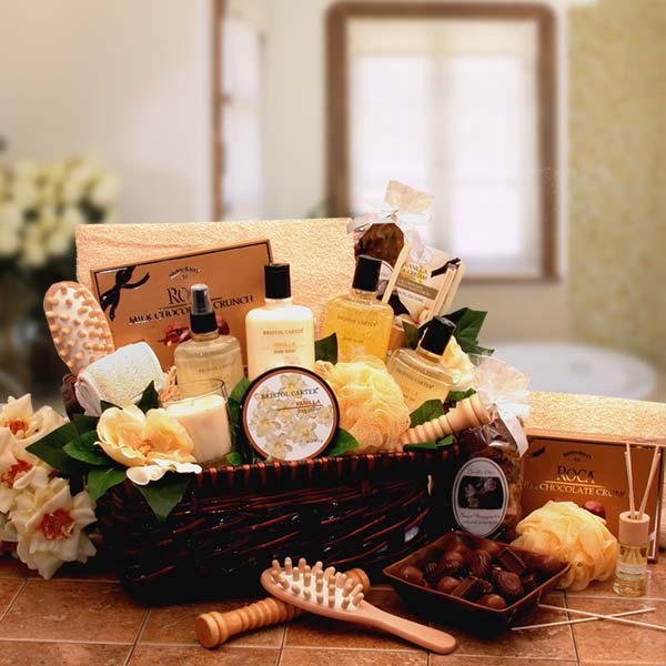 Spa-Therapy-Relaxation-Gift-HamperGift Basket - Gourmet Basket