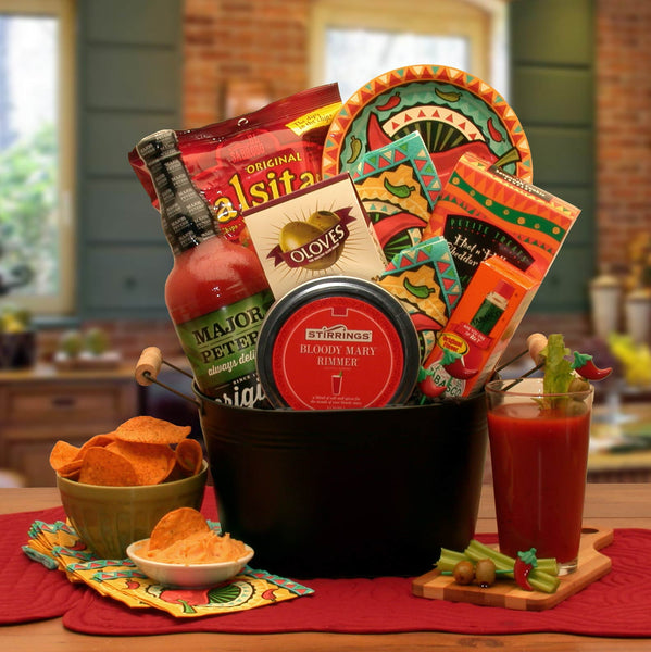 A-Bloody-Mary-Mixer-Gift-BasketGift Basket - Gourmet Basket