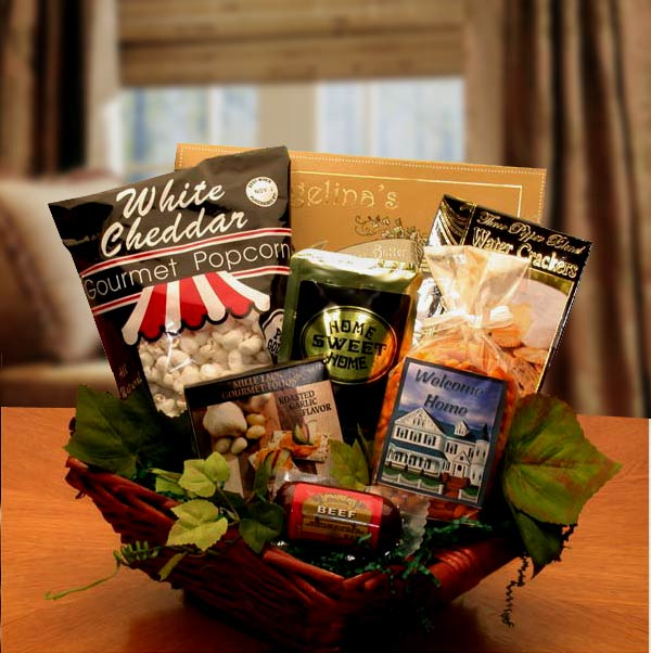 Welcome-To-Your-New-Home-Gift-BasketGift Basket - Gourmet Basket