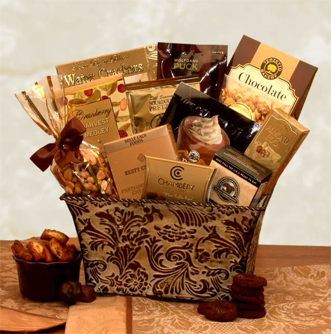 Savory-Sophistication-Gourmet-Gift-BasketGift Basket - Gourmet Basket