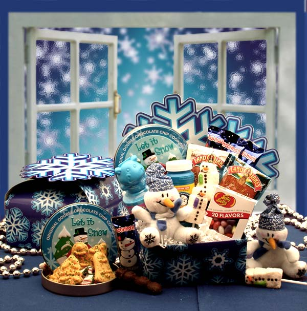 Frosty's-Winter-Wonder-Care-packageGift Basket - Gourmet Basket