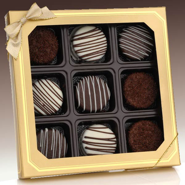 Classic-Chocolate-Dipped-Oreo®-Cookies--Gift-BoxGift Basket - Gourmet Basket