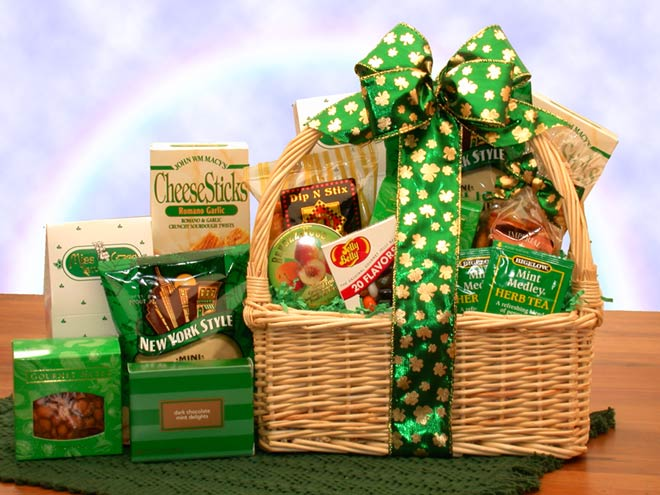 St-Patties-SnacksGift Basket - Gourmet Basket
