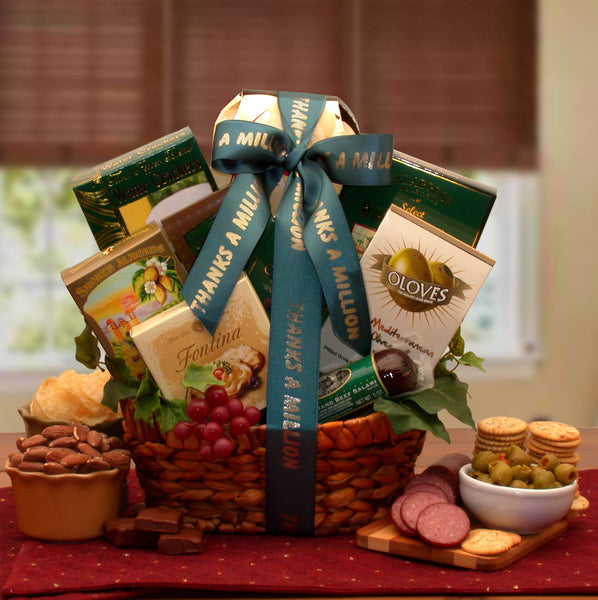 A-Gourmet-Thank-You-Gift-BasketGift Basket - Gourmet Basket