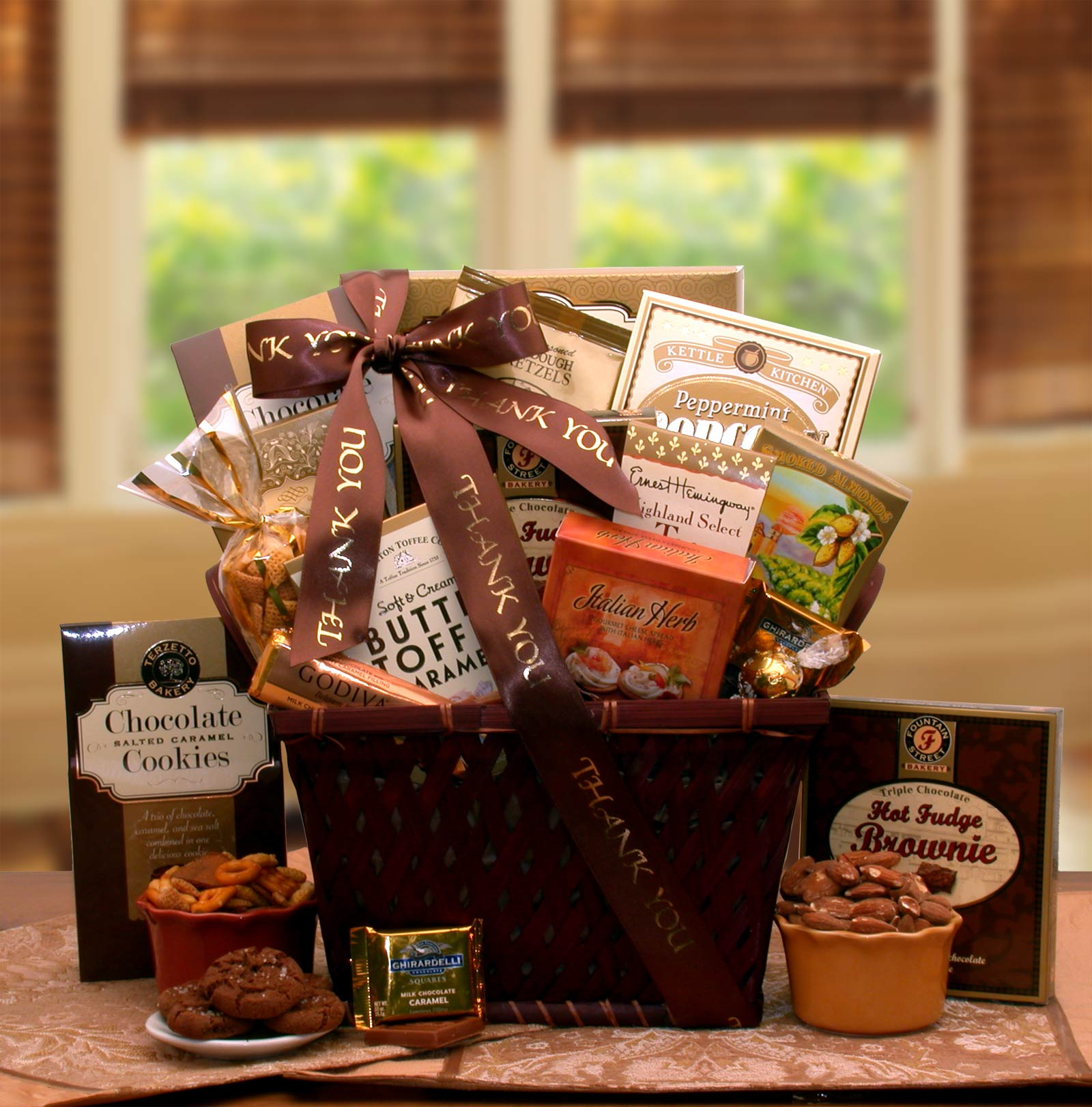A-Very-Special-Thank-you-Gourmet-Gift-BasketGift Basket - Gourmet Basket