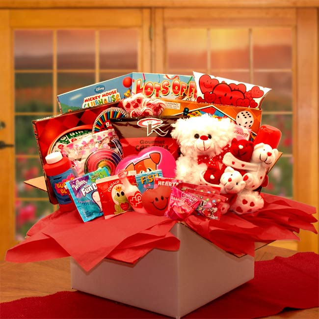 My-Little-Sweethearts-Valentine-Care-PackageGift Basket - Gourmet Basket
