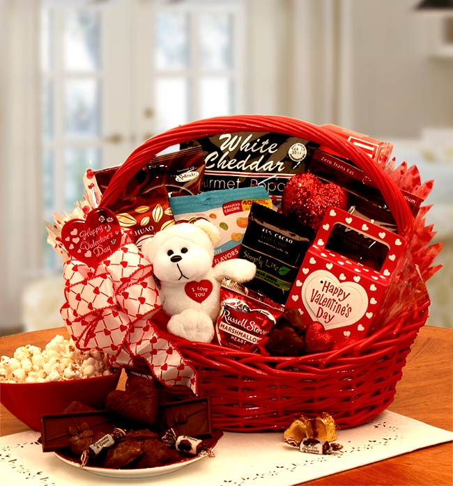 My-Sugar-Free-Valentine-Gift-BasketGift Basket - Gourmet Basket