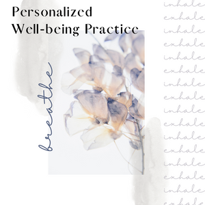 Personalized Well-being Practice