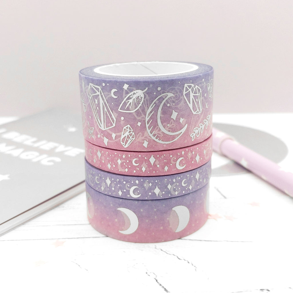 Holo Foil Witchy Vibes 22mm Washi Tape (W0037)