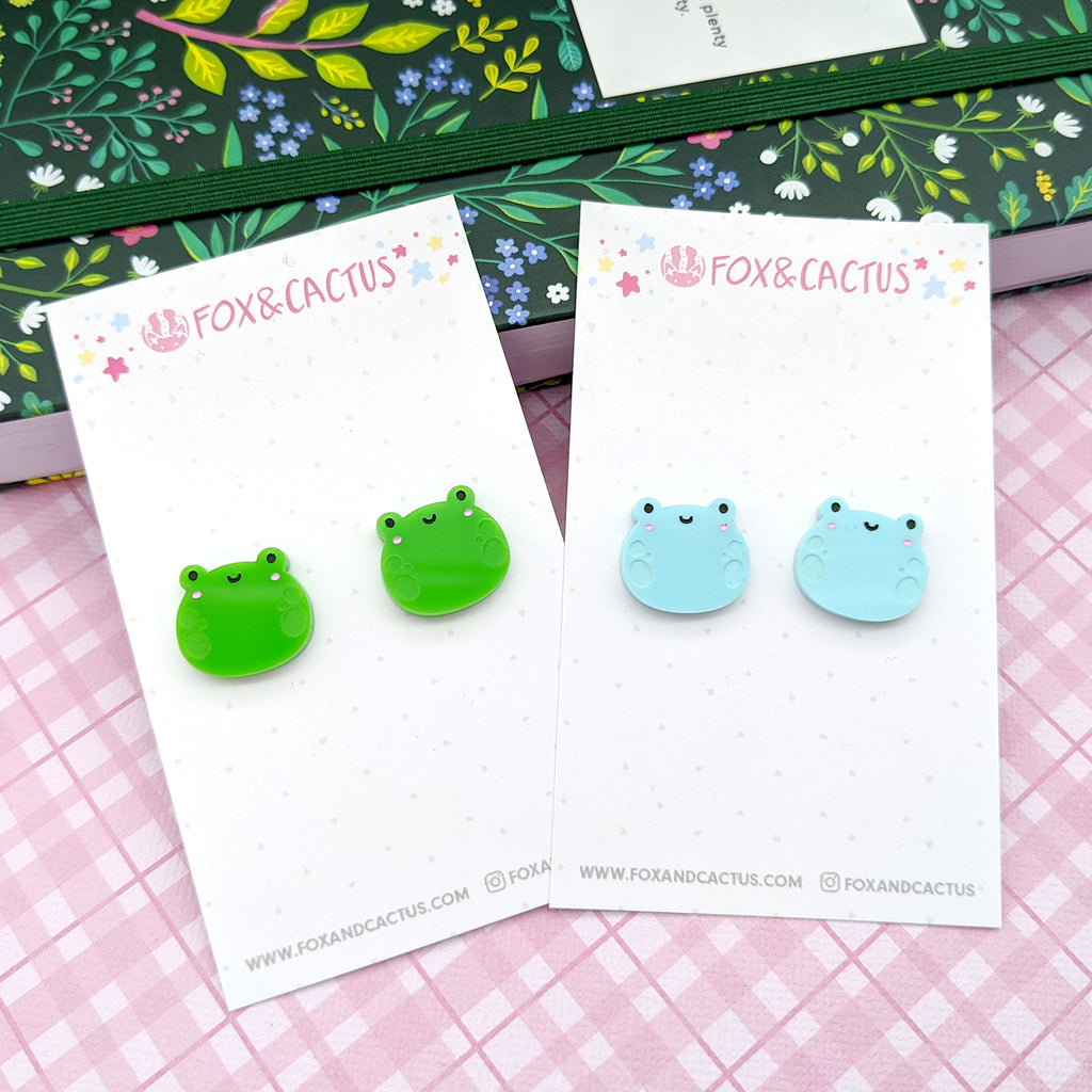 Froggy Stud Earrings (AC0022)