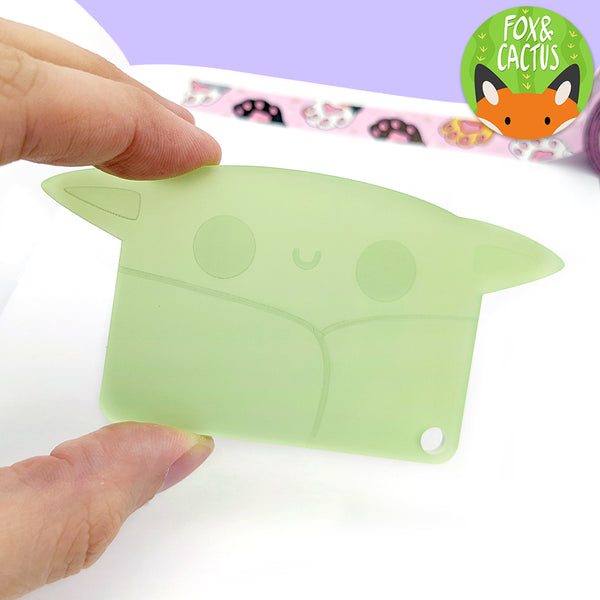 Acrylic Space Baby Washi Cutter (ST0165)