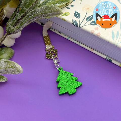 Christmas Tree Charm (6 Colours Available) (AC0088)
