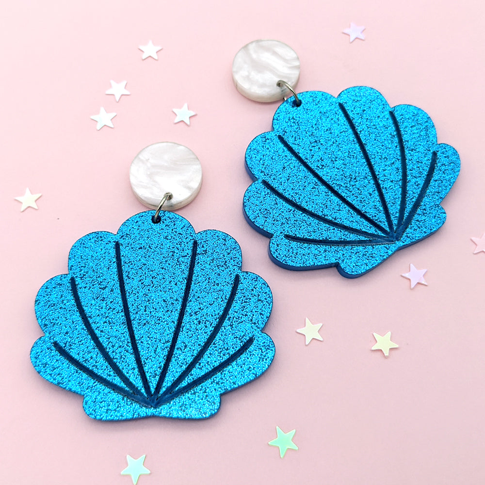 Seashell Dangle Earrings (AC0015)