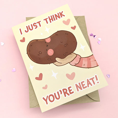 I Just Think You're Neat Greeting Card (ST0216)