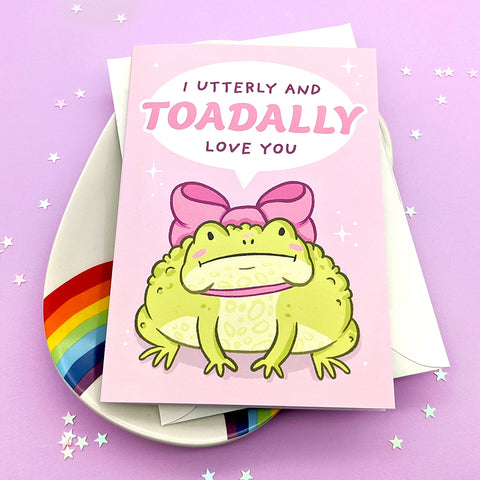 I Toad-ally Love You Greeting Card (ST0153)