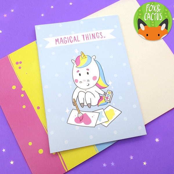 Magical Things A5 Notebook/Sketchbook (ST0107)