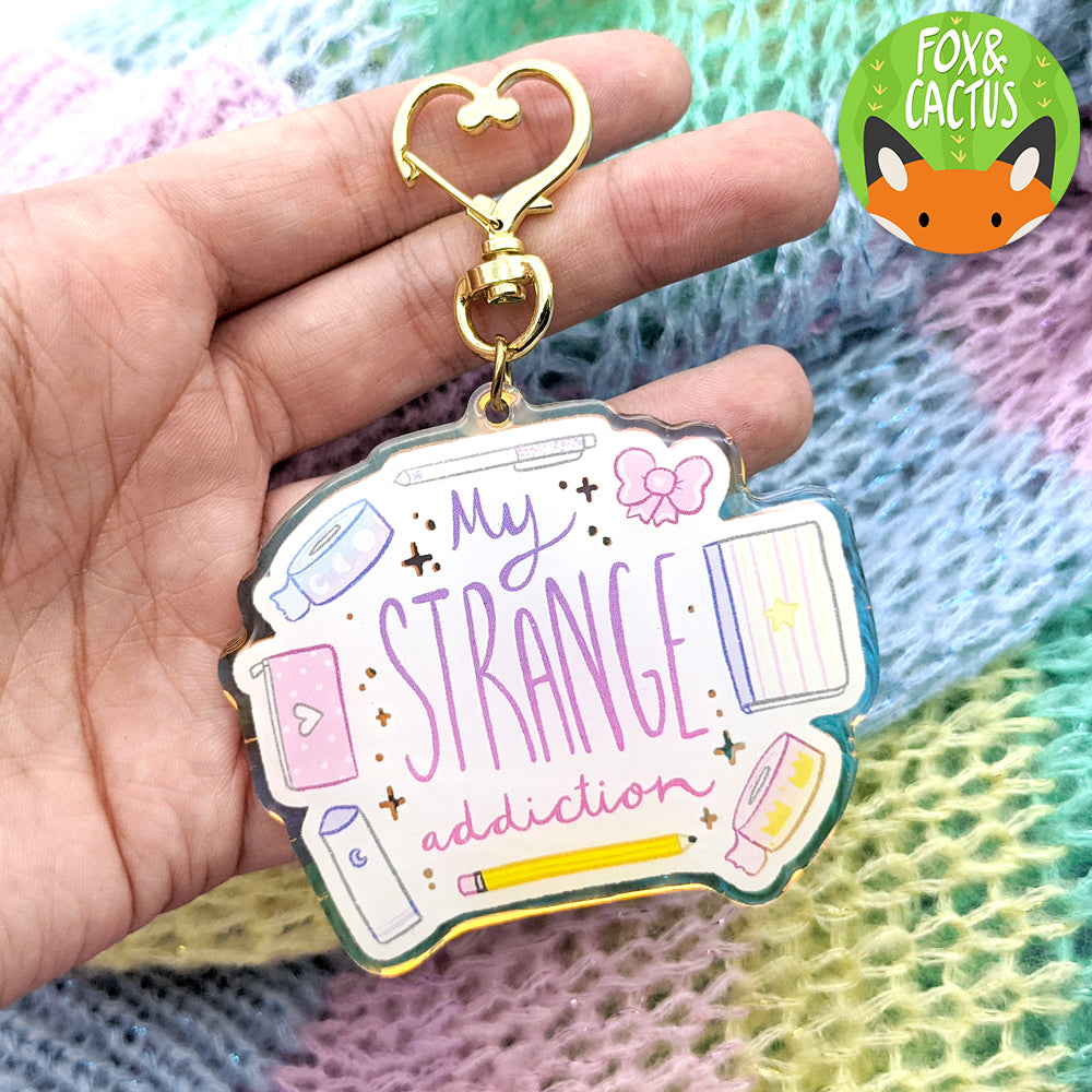 My Strange Addiction Holographic Keychain (ST0220)