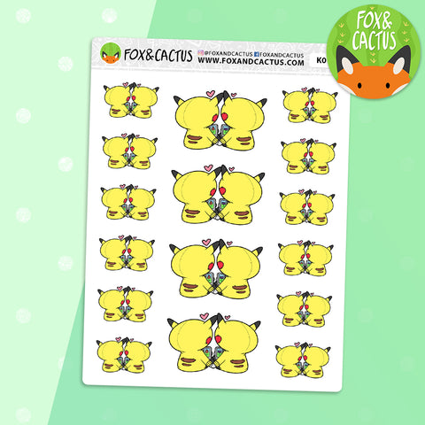 Pokemon Date Night Stickers (K0127)
