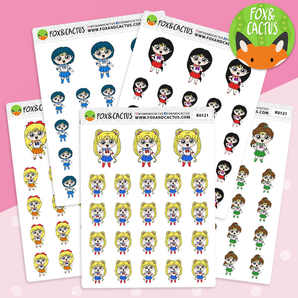Magic Girl Squad Stickers (K0121)