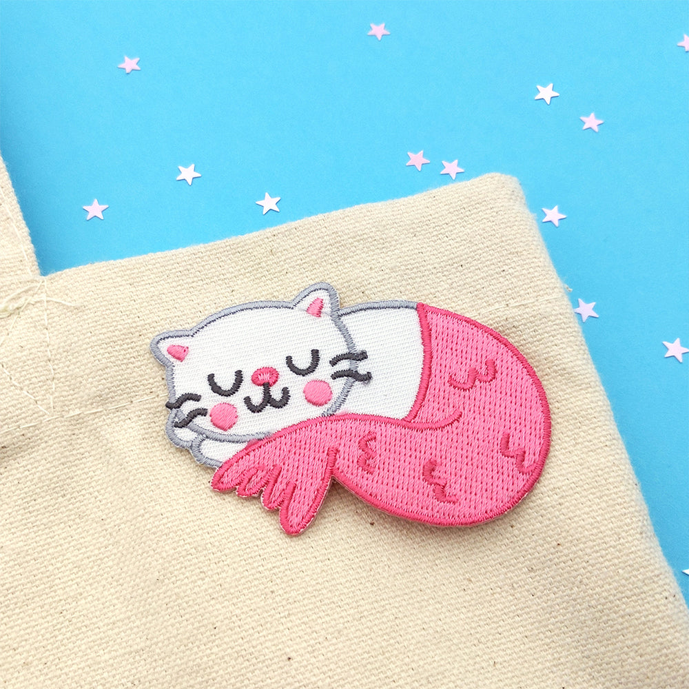 Sleepy Purrmaid Patch (ST0126)