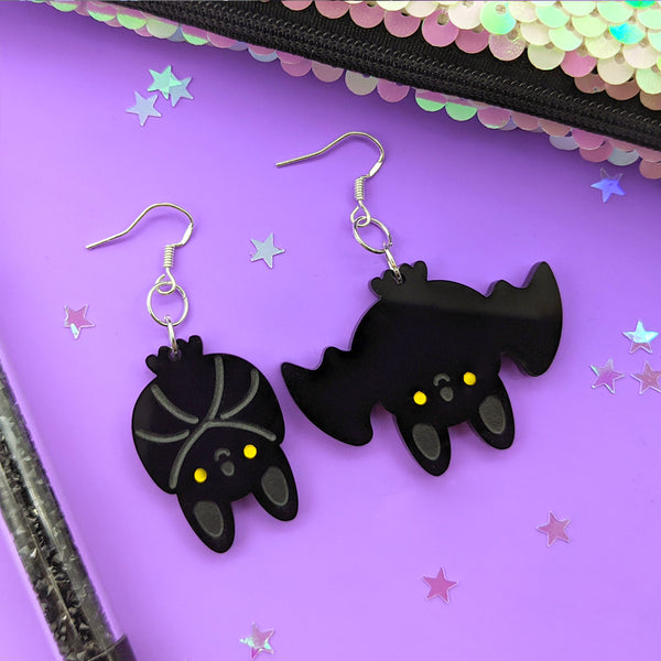 Cute Bat Dangle Earrings (AC0050)