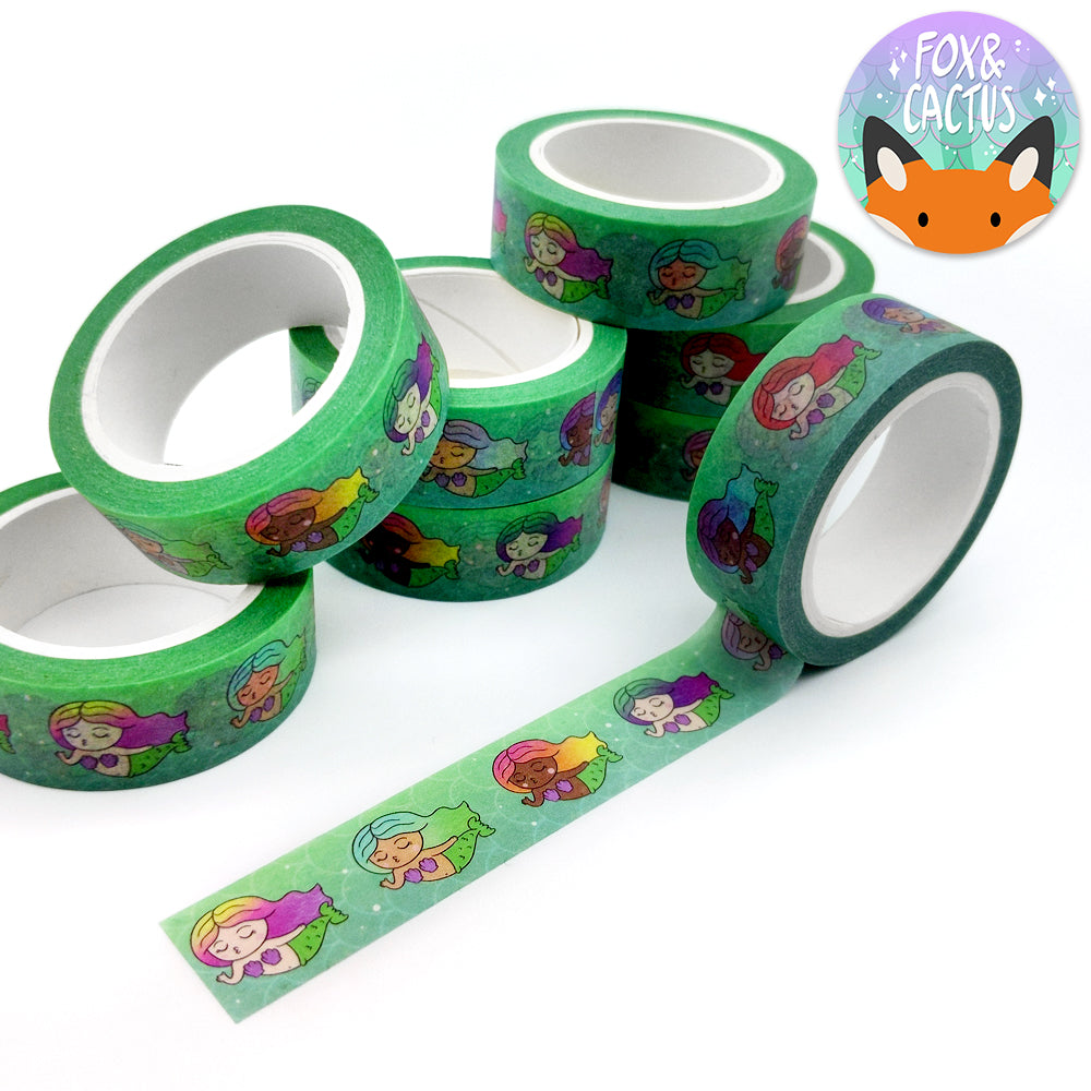 #MERMAY Under The Sea Mermaid Washi Tape (W0024)