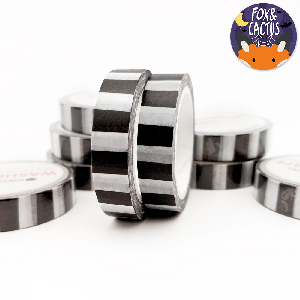 Beetlejuice Stripes 10mm Washi Tape (W0045)