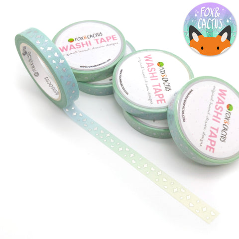 Holo Foil Mermaid Sparkles (Cool) Washi Tape (W0128)