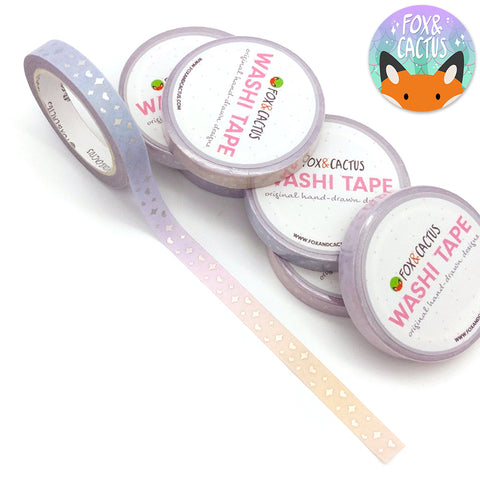 Holo Foil Mermaid Sparkles (Warm) Washi Tape (W0129)