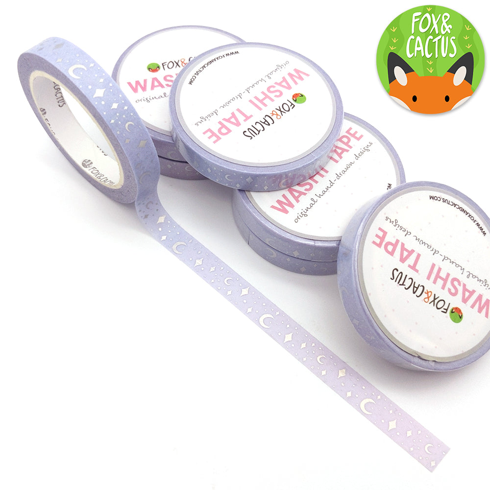 Holo Foil Celestial (Sweet Dreams) Gradient Washi Tape (W0144)