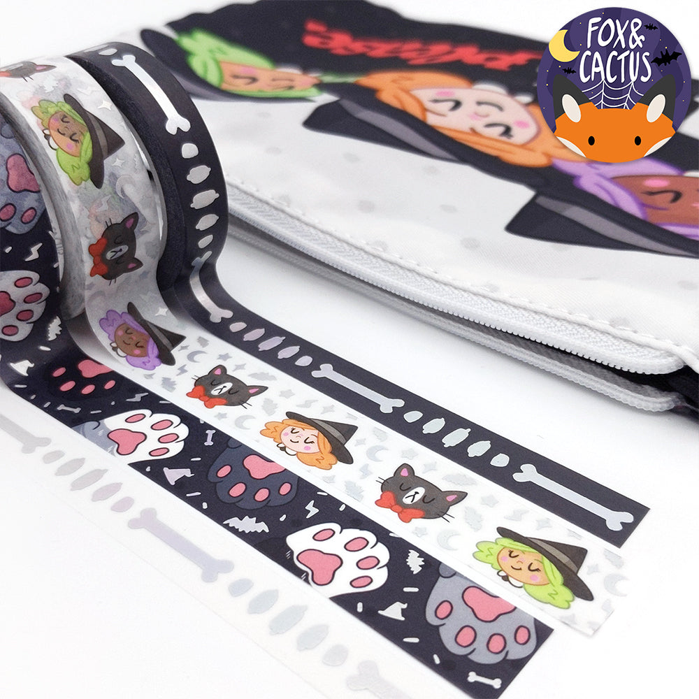 Holo Foil Witch Please Washi Tape (W0147)
