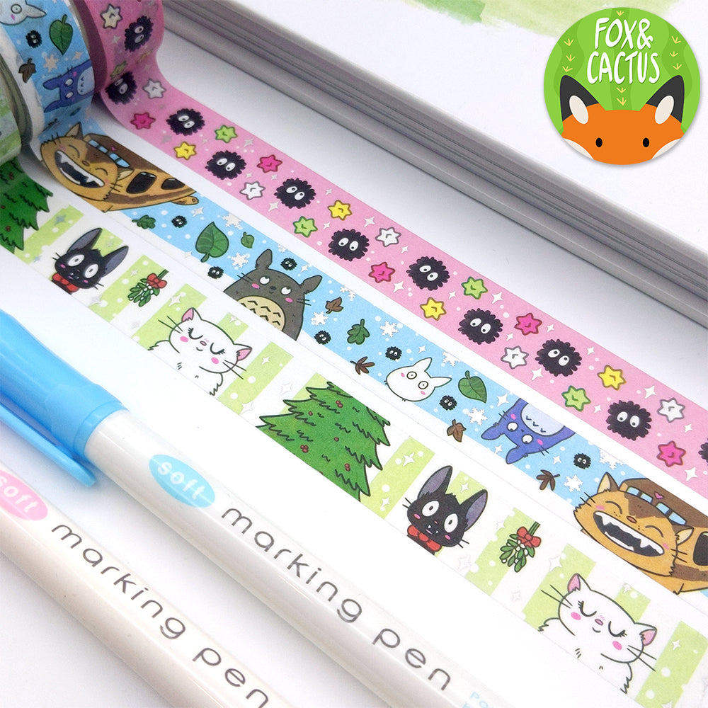 Holo Foil Soot Candy Washi Tape (W0152)