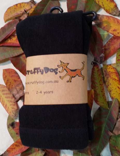 ScruffyDog tights _ Black _ flat rate shipping $5.00 for up to 10 pairs