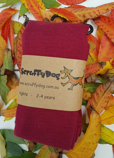 ScruffyDog tights _ La Rouge _ flat rate shipping $5.00 for up to 10 pairs