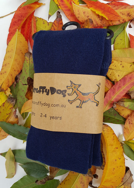 ScruffyDog tights _ Navy _ flat rate shipping $5.00 for up to 10 pairs