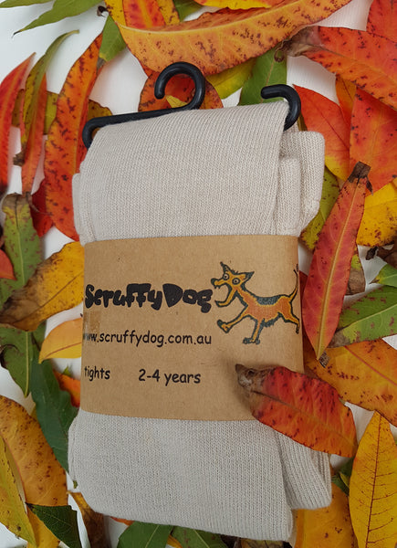 ScruffyDog tights _ Oatmeal _ flat rate shipping $5.00 for up to 10 pairs