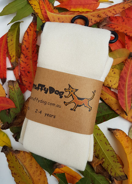 ScruffyDog tights _ Vanilla _ shipping $5.00 flat rate for up to 10 pairs