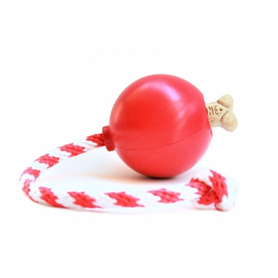 cherry bomb dog tug treat dispensing toy rover pet products