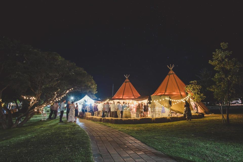 wedding, tipi, belle tent, hire, function, event, gathering, unique, glamping, party, Eyre Peninsula, Port Lincoln, South Australia